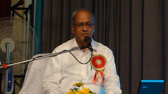 Photo#6- Dr. Satish Gupta addressing the participants