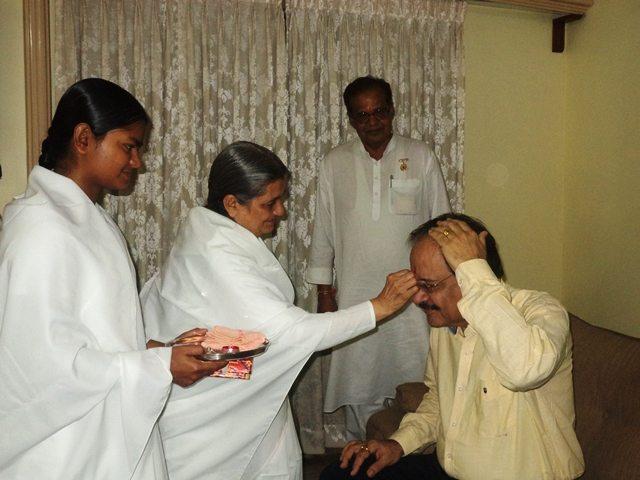 medical univerity vice chancellor Dr R S Sharma ji