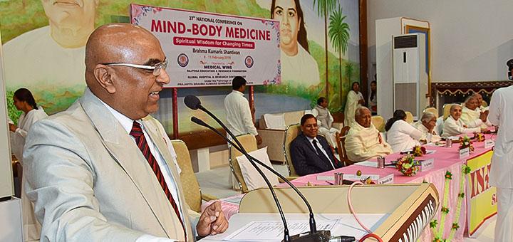 Dr. Girish D. Patel, Vice President, Medical Wing, Mumbai