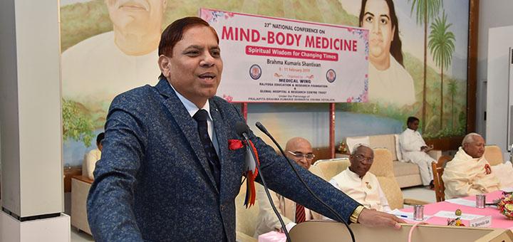 Prof. Dr. Raj Kumar, the Vice Chancellor of Uttar Pradesh Medical Science University, Etawah